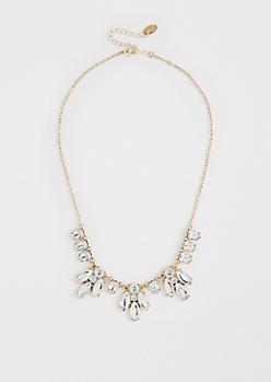 Glistening Gemstone Necklace