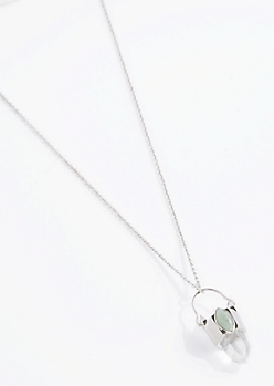 Aventurine Love Prism Necklace