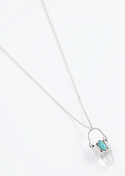 Turquoise Wisdom Prism Necklace