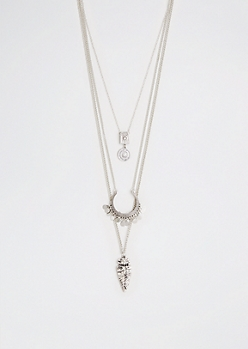 Arrowhead Tiered Necklace