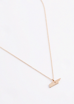 Tennessee Gold Charm Necklace
