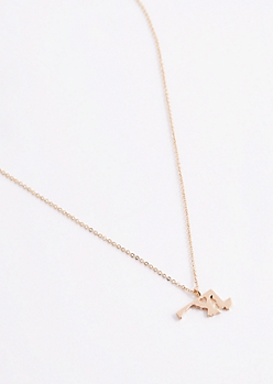 Maryland Gold Charm Necklace