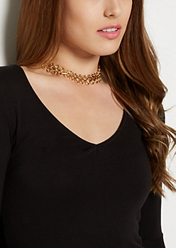 Double Loop Chain Choker