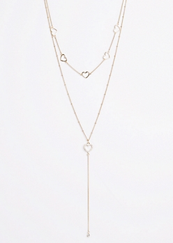 Heart Tiered Necklace
