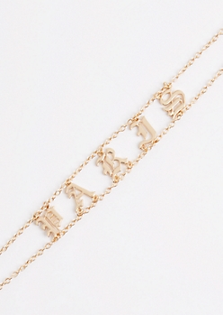 Paris Chain Link Choker