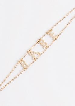 Babe Chain Link Choker