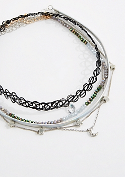 5-Pack Starry Night Choker Set