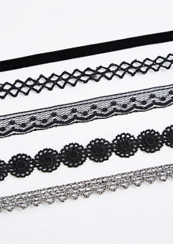 Luxe Banded Choker Set