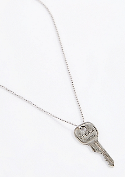 Dream Key Pendant Necklace