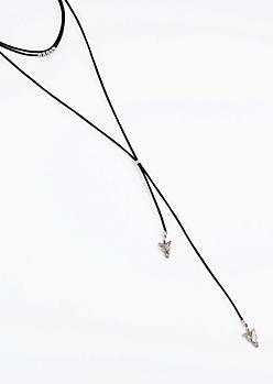 Tribal Arrow Y-Necklace