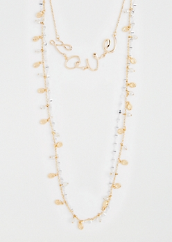 Love Layered Necklace Set