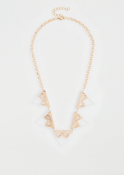 Geo Chain-Link Necklace