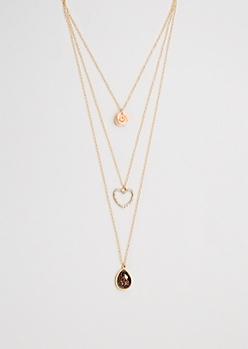 Wild Love Tiered Necklace