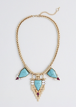 Speaks Volumes Boho Necklace