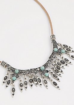 Boho Drop Necklace
