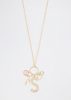 S For Special Cluster Necklace