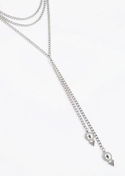 Arrowhead Layered Chain Necklace