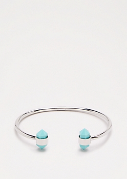 Turquoise Healing Stone Bangle