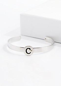 Stone C Cuff Bracelet