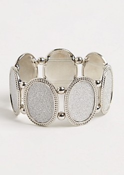 Diamond Dust Plate Bracelet