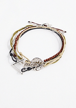 4-Pack Earth Sign Friendship Bracelets