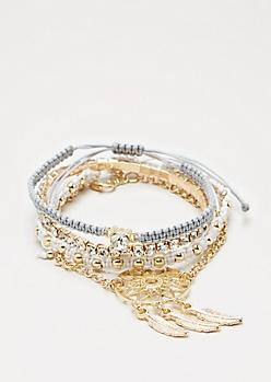 Dreamcatcher Bracelet Set