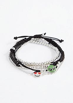 Alien BFF Bracelet Set