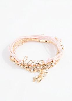 Love Unicorn BFF Bracelet Set