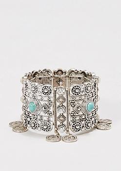 Boho Coin Bracelet