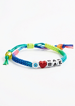 Eye Heart Bae Friendship Bracelet