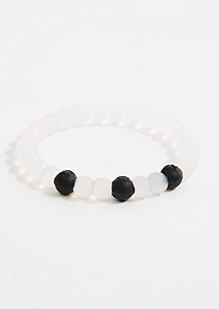Earth Sign Silicone Bead Bracelet