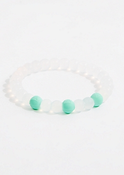 Air Sign Silicone Bead Bracelet