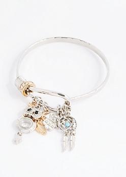 Dream Weaver Hammered Bracelet