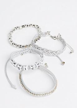 4-Pack Magical AF Bracelet Set