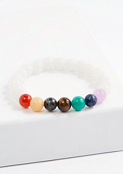 White Healing Stone Bracelet