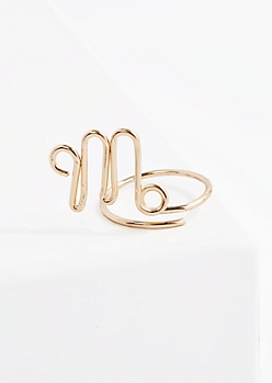 Virgo Wire Ring