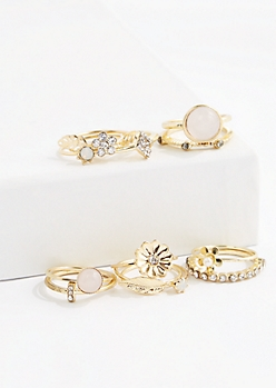Garden Party Ring Set