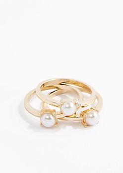 June Stone Ring Set