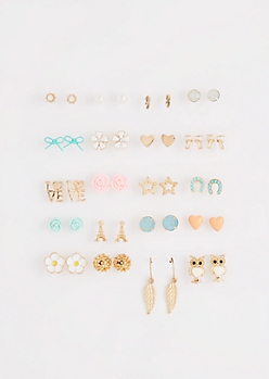 Take A Bow Earring Set