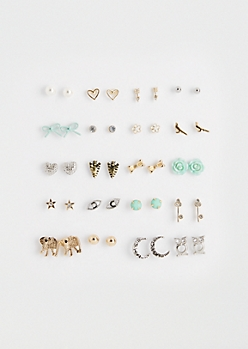 Only Live Once Earring Set