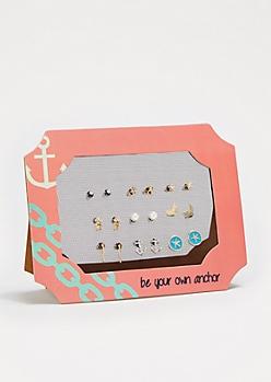 All Aboard Earring Set