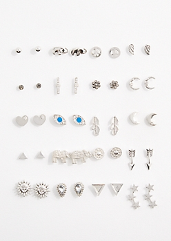 Bohemian Sun Earring Set