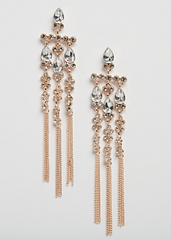 Chandelier Stone Drop Earring