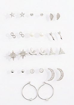 13-Pack Boho Beauty Earring Set