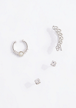 Vine Ear Crawler & Nose Ring Set