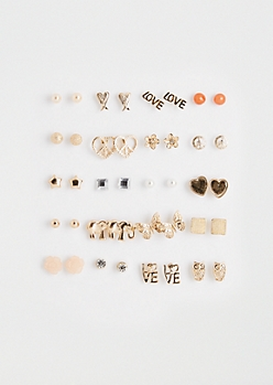 Follow Love Earring Set