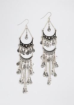 Chandelier Coins Earring
