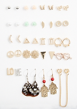 Brave Soul Earring Set