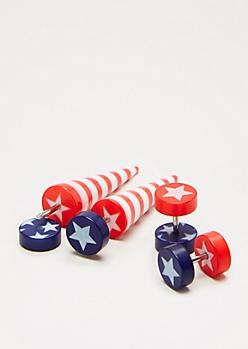 Americana Faux Taper & Plug Set
