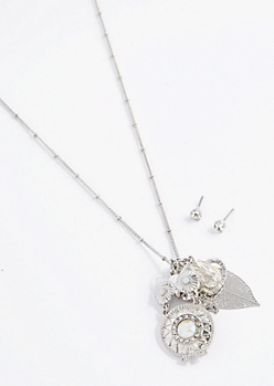 Eiffel Tower Cluster Jewelry Set
